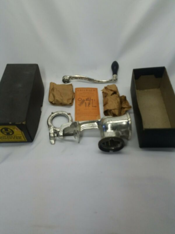 GRISWOLD  No. 2 COMBINATION  MEAT & FOOD   CHOPPER  IN ORIGINAL  BOX