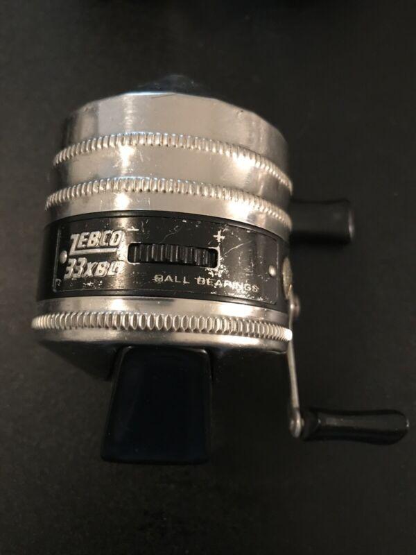 ZEBCO 33XBL RARE Reel - Made in USA