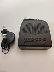GPX Audio C224B Dual Alarm Clock AM/FM Radio Digital Volume Control Black