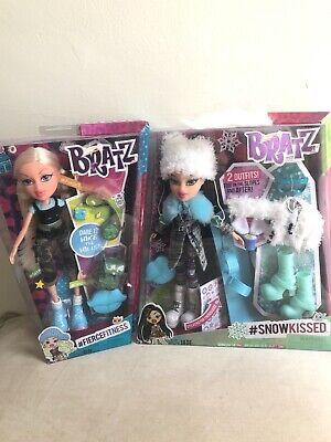 *NEW* LOT 2 BRATZ Dolls - JADE #Snowkissed - CLOE #Fiercefitness *Retired NIP*