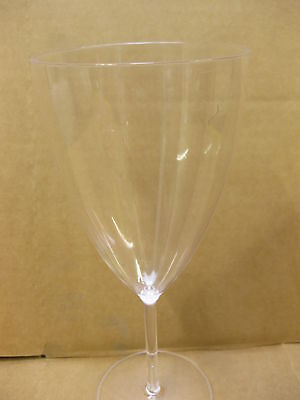 30 PREMIUM PLASTIC WINE GLASSES DRINK 170ml PARTY WEDDING EVENT BBQ FETE FAIR