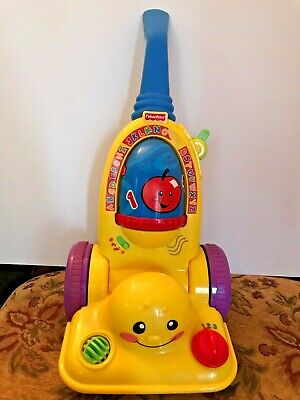 2006 Fisher Price Laugh & Learn Play Vacuum w/Music, ABC, Numbers