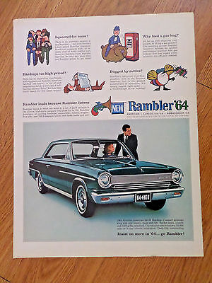 1964 Rambler 440 H Hardtop Ad