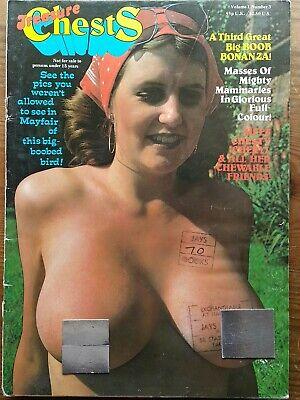 Mens Vintage Glamour Magazine Vol 1 No 3 FREE POST