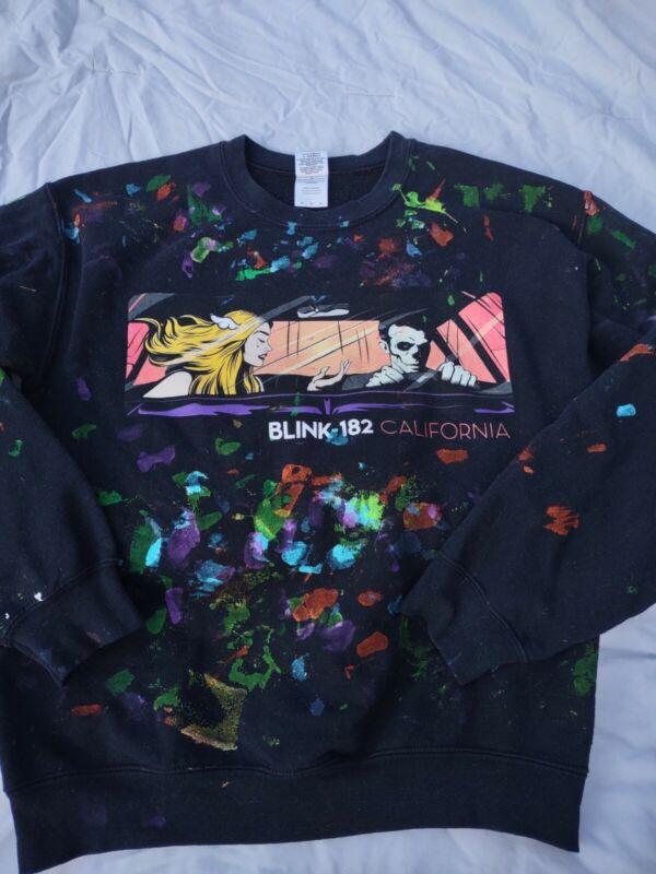 Blink 182 California Album Merch Sweatshirt Adult medium Retro