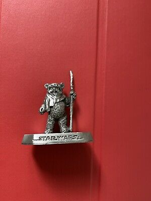 Rawcliffe Pewter Star Wars Ewok Wicket Statue Figure Empire not Selangor