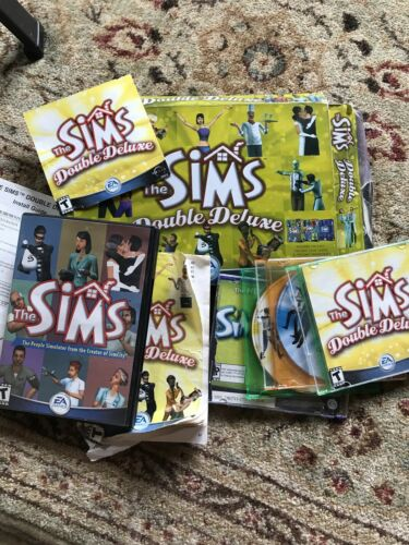 Computer Games - Sims Computer Game For Windows 98 Or XP