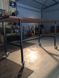 Industrial table/ bar table/work, office table  Hazelwood North Latrobe Valley Preview