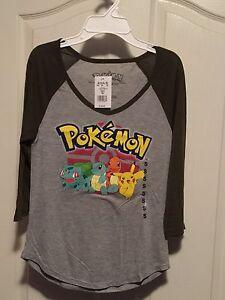 Teen girls Pokémon shirt