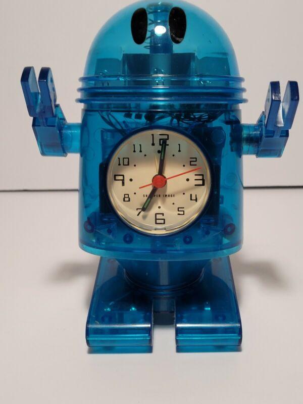 Sharper Image Robot Alarm Clock