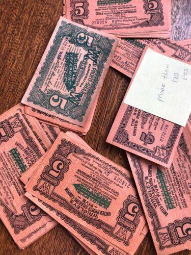 vintage wrigleys coupons