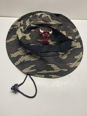 Chicago Windy City/ Bulls New Era Camo Bucket Hat