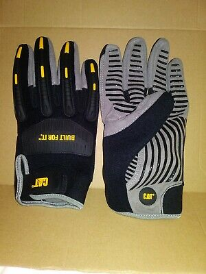 Cat Gloves Large Black High Impact Work Glove