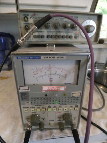 Meguro MN-447A 2channel AC Multimeter Noise Meter