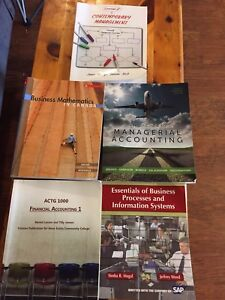 NSCC Business Administration - Accounting textbooks