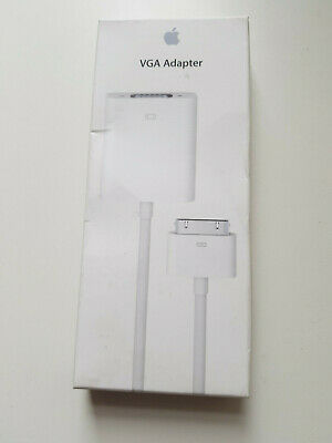 Genuine Apple VGA Adapter (Boxed) MC552ZM/B, Sealed