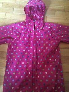 Land's End Girls Unlined Raincoat. Size 10/12