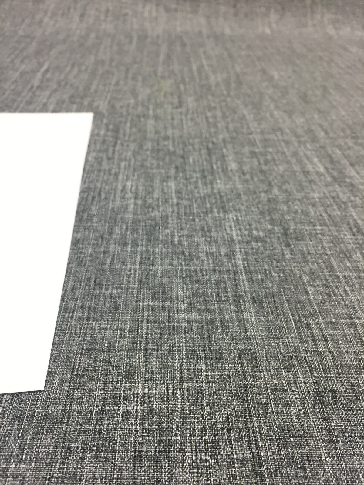 30 yard roll Milo Ash gray Denim look Drapery upholstery Multipurpose Fabric