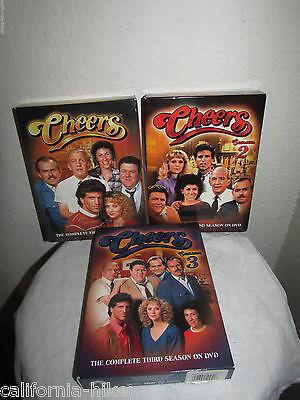 Cheers Dvd Set Season 1   2     3  One Two Three  No Tax