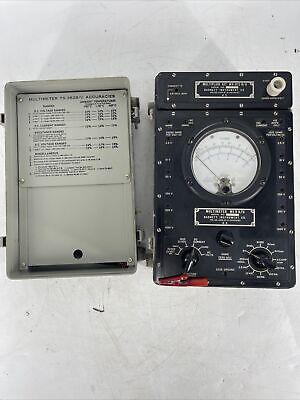 Vintage Barnett Ts-352 Bu Multimeter Mx-815 Bu