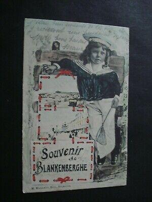 CP SOUVENIR DE BLANCKENBERGHE 1906