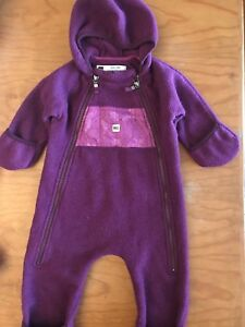 MEC Fleece Bunting Suit and puffer Jacket 12 months