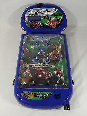 Arcade Alley ROAD RACER Tabletop Pinball Electronic Table Top Game - Racer Pinball