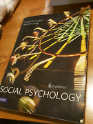 Social psychology vaughan hogg textbooks gumtree australia free social psychology by vaughan and hogg fandeluxe Image collections