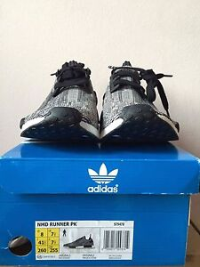 Adidas NMD Runner PK Glitch Camo Grey  Primeknit SZ 8 Greenwood Joondalup Area Preview