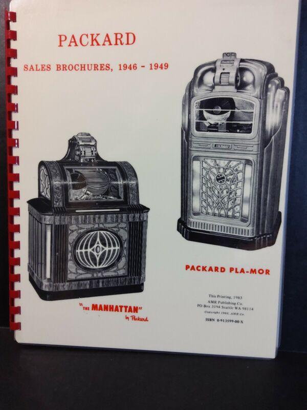 Packard Sales Brochures 1946-1949 Manhattan Pla-Mor & remote (IN COLOR)
