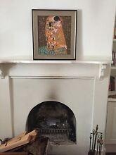 'The Kiss' Framed Painting (Reproduction) by Gustav Klimt Fremantle Fremantle Area Preview