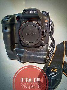 camara-digital-Sony-SLT-alpha-A77-Con-8008-disparos-REGALO-Flash-YN460-II