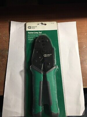 Commercial Electric Ratchet Crimp Tool 537 981