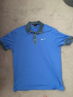 Nike Tiger Woods Golf Shirt - Size Medium - Slightly Worn
