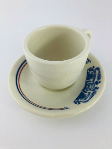 Vintage Antoine Restaurant Dimi Cup and Saucer Syracuse China
