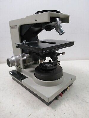 Bausch Lomb Balplan Microscope Base W 1 Objective Lens