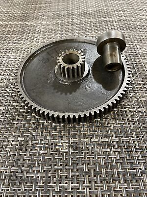 Southbend Lathe 8 9 Rare Compound Idler Gear 18t81t 0.50 Bushing Bore Nice