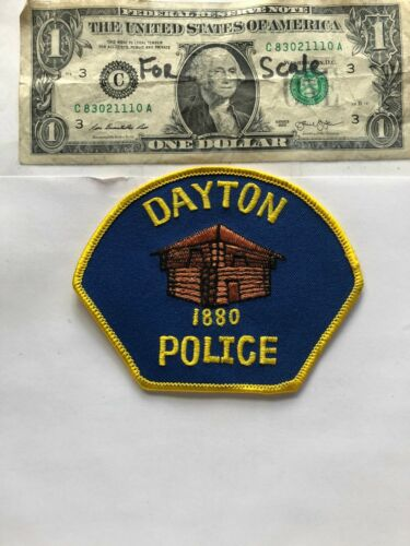 Dayton Oregon Police Patch un-sewn great condition