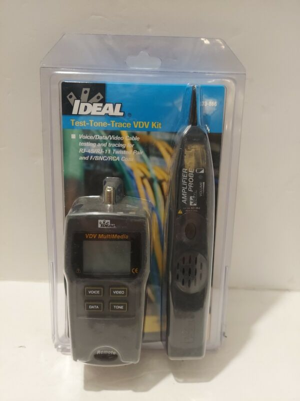 IDEAL INDUSTRIES 33-866 TEST TONE TRACE KIT