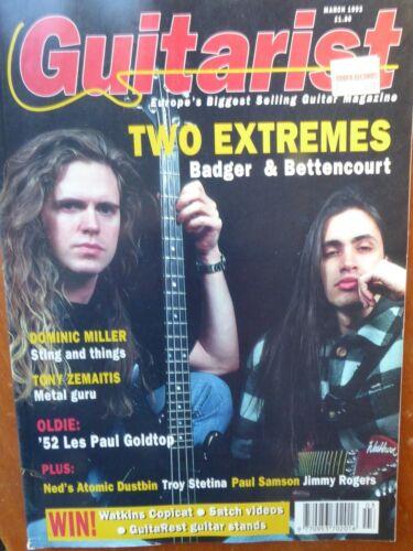 Guitarist Magazine - March,1993