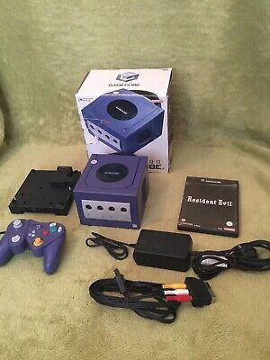 Nintendo GameCube Boxed + Gameboy Player-Please Read