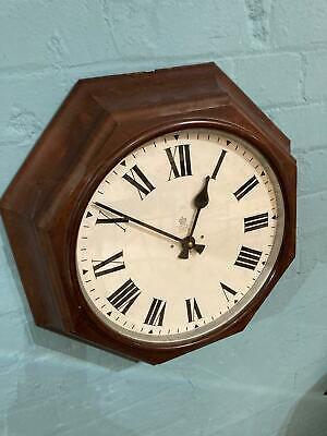 Octagonal Bakelite GPO clock