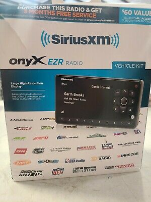 Open Box: SiriusXM  Onyx EZR Satellite Radio Vehicle Kit.