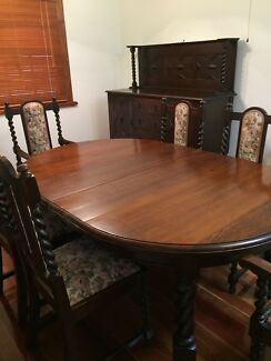 Antique Jacobean Dining Table