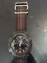 Near new G shock watch with material strap Idalia Townsville City Preview