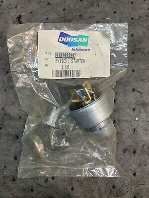 Daewoo Forklift Parts Ltk1019659new D147482old Ignition Switch With Key