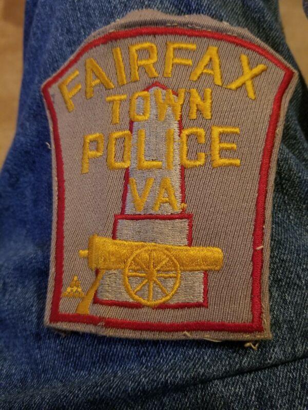 Vintage Faifax Town Police Virginia Patch