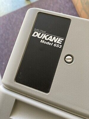 Dukane Overhead Projector Model 653 Tested Works