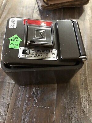 Knoxbox 3200 Surface Mount Hinged Door Commercial Knox Key Box Model 3265