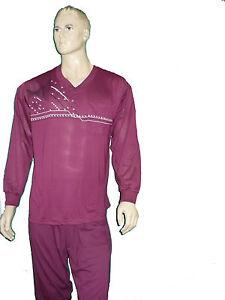 Herren Schlafanzug,lang,Arm-u.Beinbündchen,in Markenqualität,Pyjama,Gr.M-XXXL